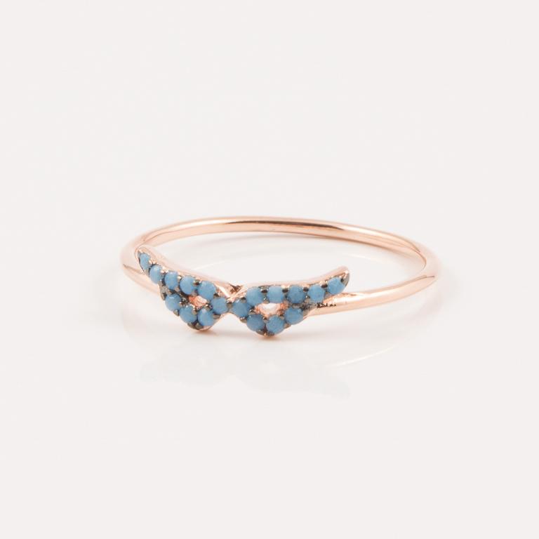 Δαχτυλίδι Φτερά Ροζ Χρυσό Ζιργκόν 8e989c8fa8c