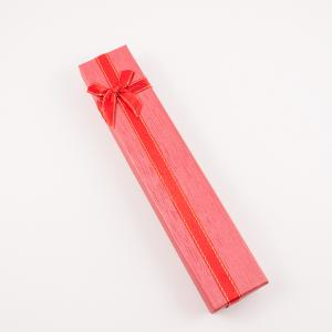 Gift Box Red 21x4cm