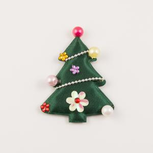 Cloth Tree Green 7x5cm