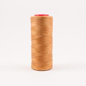 Waxed Cotton Cord Honey 100m