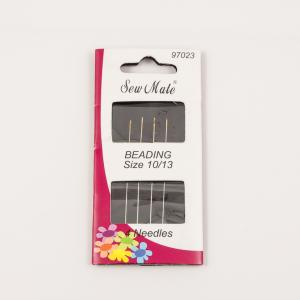 Sewing Needles for Beading (4pcs)