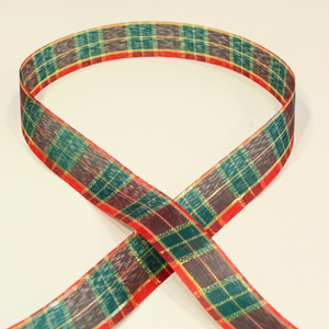 Ribbon Checkered 25mm