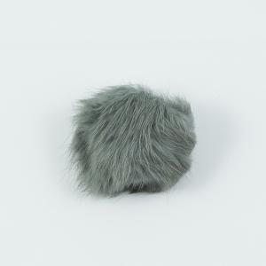 Synthetic Fur Gray 4cm