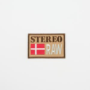"Iron-On Patch ""Stereo RAW"""