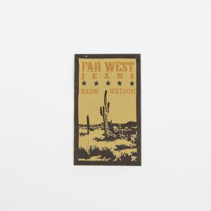 "Iron-On Patch ""Far West"""