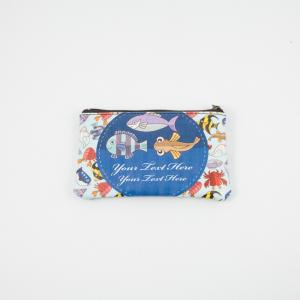 Coins Wallet Fishes 13x8cm
