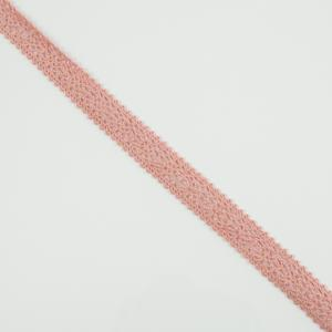 Knitted Ribbon Pink 1.5cm