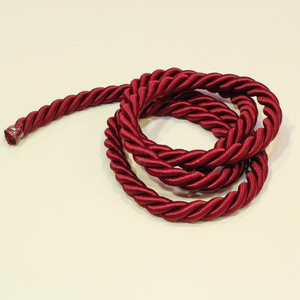 Twisted Cord Burgundy(9mm)