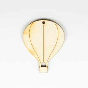 Wooden Motif Air Balloon