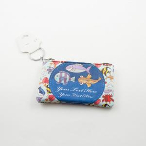 Coins Wallet Fishes 13x7.5cm