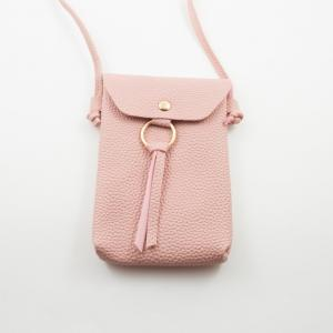 Women's Bag Leatherette Pink