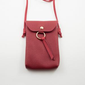 Women's Bag Leatherette Red