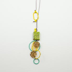 Necklace Hoops Motifs Colourful