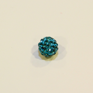 Marble Strass Light Blue (10mm)