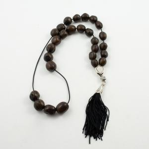 Worry Beads Nutmeg Brown Aztec