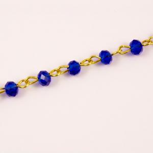 Rosary Blue Beads (4mm)