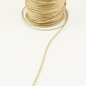 Waxed Linnen Cord Beige (1mm)