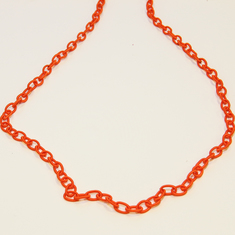 Cloth Chain Red (1cmx70mm)