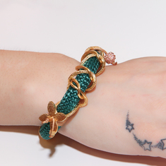 Bracelet Mountaineering-Chain Teal