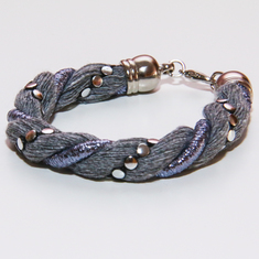 Bracelet Twisted Cotton Cord