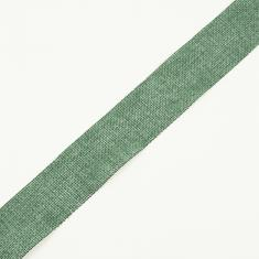 Jute Ribbon Cypress Green 3.8cm