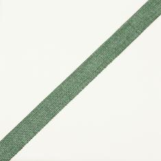 Jute Ribbon Cypress Green 2.3cm