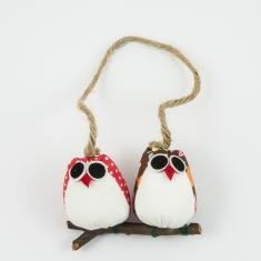 Two Owls Hanged