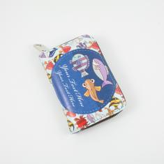 Wallet Fishes 14x9cm