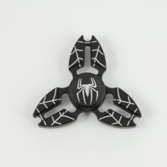 "Fidget Spinner ""Spiderman"" Μαύρο"