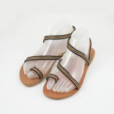 "Sandals "" Gold Chain"""