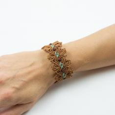 Macrame Bracelet Brown