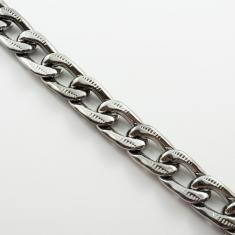 e3e4c811f6 Αλυσίδα Χρυσή Φλουριά  Ακρυλική Αλυσίδα Black Nickel 2x3.5cm