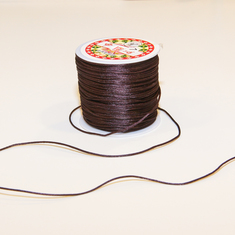 Flush Cord Brown (80cm)