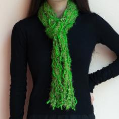 Knitted Scarf Green