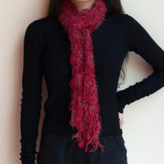 Knitted Scarf Red
