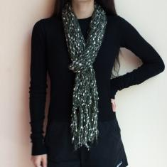 Knitted Scarf Sypress Green