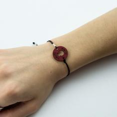 Bracelet Motif Pomegranate Red