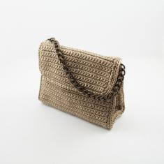 Knitted Bag Beige