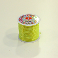 Silicone Yellow Fluo (0.6mm)