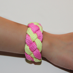 Bracelet Mountaineering Braid Fuchsia