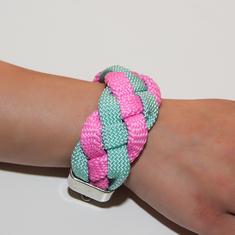 Bracelet Mountaineering Knitted