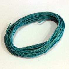 "Waxed Cotton Cord ""Teal"" (5m)"
