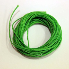 "Waxed Cotton Cord ""Green"" (5m)"