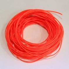 "Waxed Cotton Cord ""Fluorescent"" (5m)"