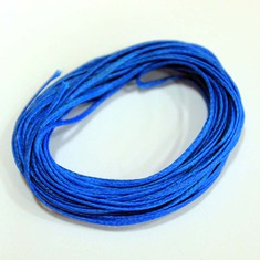 "Waxed Cotton Cord ""Electric-Blue"" (5m)"