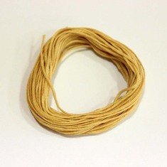 "Waxed Cotton Cord ""Beige"" (5m)"