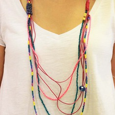 "Long Necklace ""Beads"""