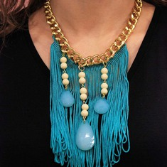 Necklace Chain Fringes