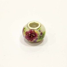 """Pandora"" Bead with Flowers"