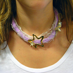 "Necklace Mountaineering ""Sea"""